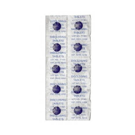 Curaprox PCA 222 tablety na zvýraznění plaku 100 ks