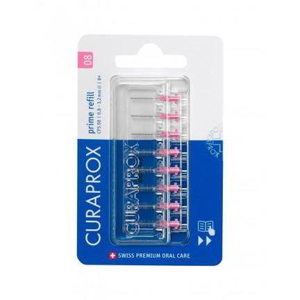 Curaprox CPS 08 prime REFILL mezizubní kartáčky 8 ks