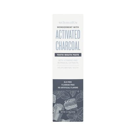 Schmidt's Activated Charcoal zubní pasta 100 ml