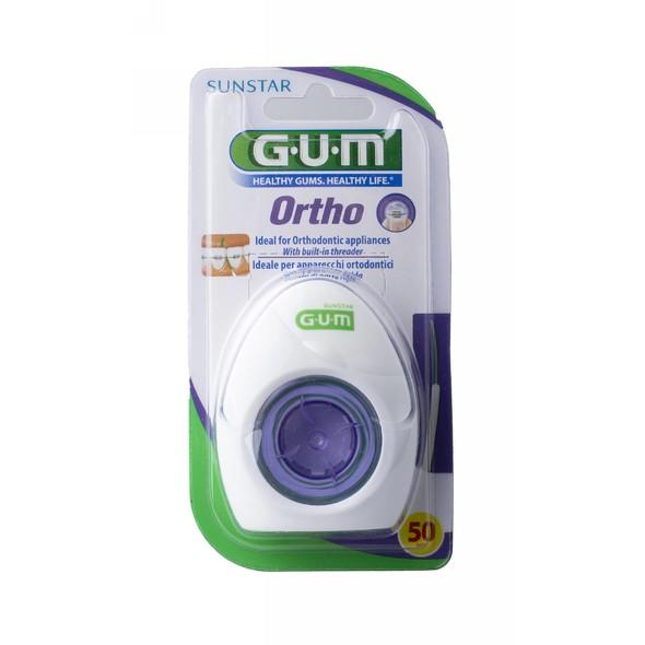 GUM Ortho Floss zubní nit 50 ks