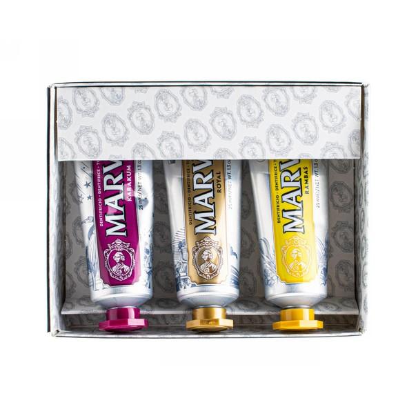 Marvis Set Karakum & Royal & Rambas dárková sada 3×25 ml