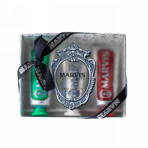 Marvis Strong & Whitening & Cinnamon set 3×25 ml