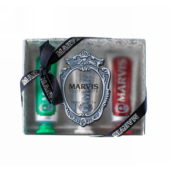 Marvis Strong & Whitening & Cinnamon set 3×25 ml