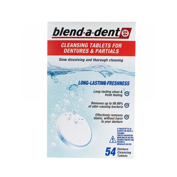 Blend-a-dent Tabs čisticí tablety 54 ks