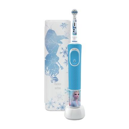 Oral-B Vitality Kids Frozen dětský zubní kartáček + cestovní pouzdro