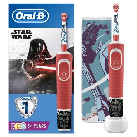 Oral-B Vitality Kids Star Wars dětský zubní kartáček + cestovní pouzdro