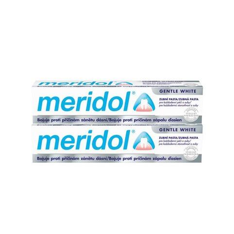 Meridol Gentle White zubní pasta 2x75 ml