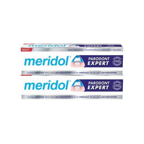 Meridol Parodont Expert zubní pasta 2x75 ml