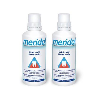Meridol ústní voda 2x400 ml