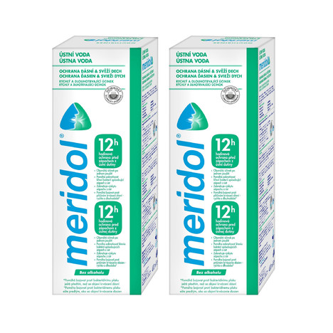 Meridol Safe Breath ústní voda 2x400 ml