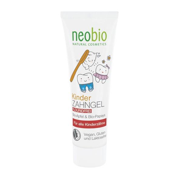 Neobio Apfel & Papaya dětská zubní pasta 50 ml