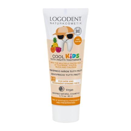 Logodent Cool Kids Tutti-Frutti dětská zubní pasta 50 ml