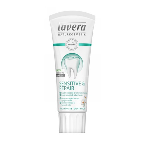 Lavera Sensitive & Repair zubní pasta 75 ml