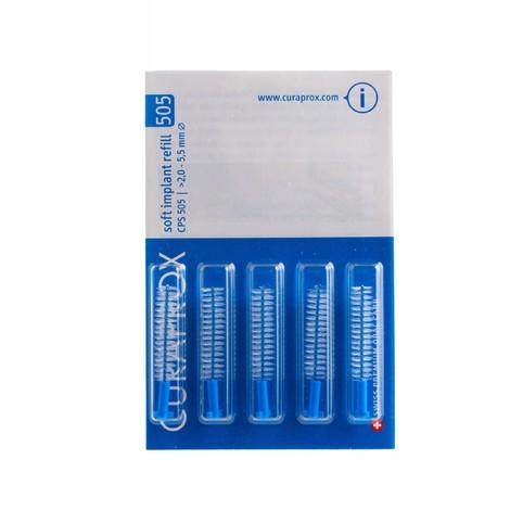Curaprox CPS 505 Soft Implant mezizubní kartáček 5 ks