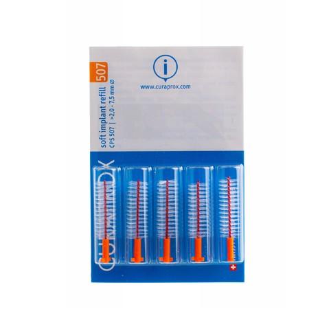 Curaprox CPS 507 Soft Implant mezizubní kartáček 5 ks