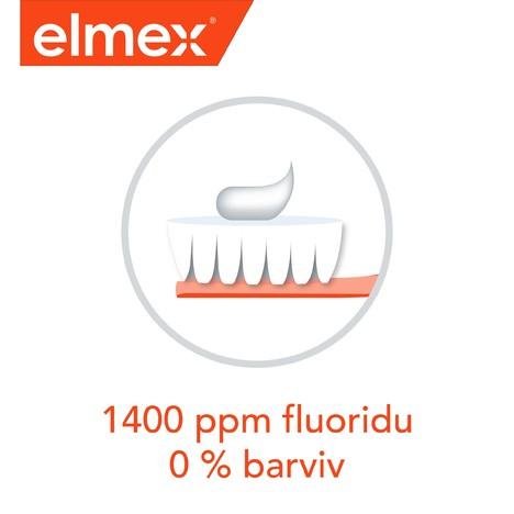 Elmex Junior 6–12 let zubní pasta 3x75 ml