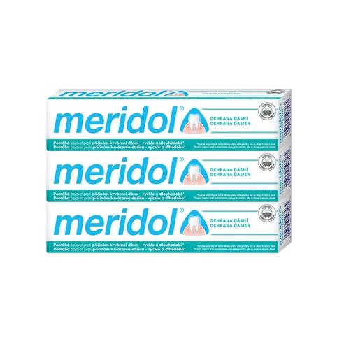 Meridol zubní pasta 3x75 ml