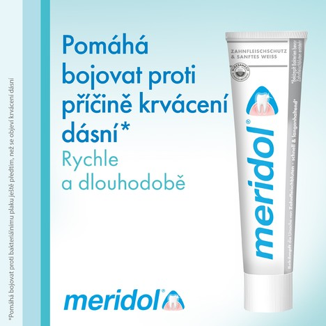 Meridol Gum Protection Gentle White zubní pasta 3x75 ml