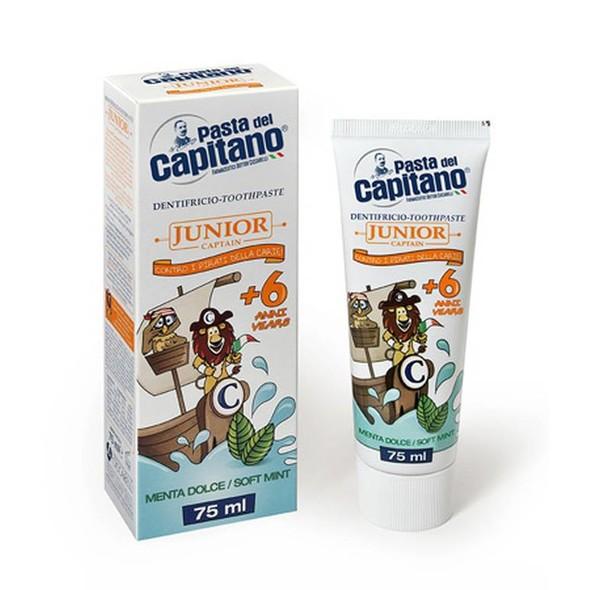 Pasta del Capitano Junior dětská zubní pasta 75 ml