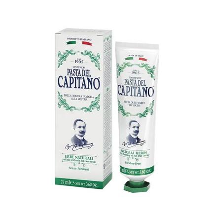 Pasta del Capitano Natural Herbs zubní pasta 75 ml