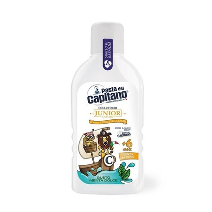 Pasta del Capitano Junior dětská ústní voda 400 ml