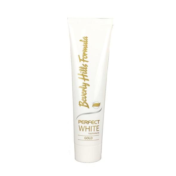 Beverly Hills Formula Perfect White Gold zubní pasta 100 ml