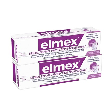 Elmex Dental Enamel Professional zubní pasta 2x75 ml