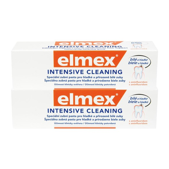 Elmex Intensive Cleaning zubní pasta 2x50 ml