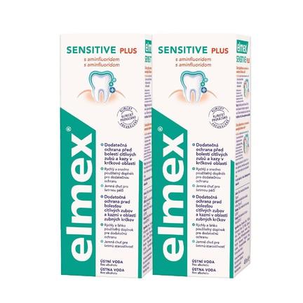 Elmex Sensitive ústní voda 2x400 ml