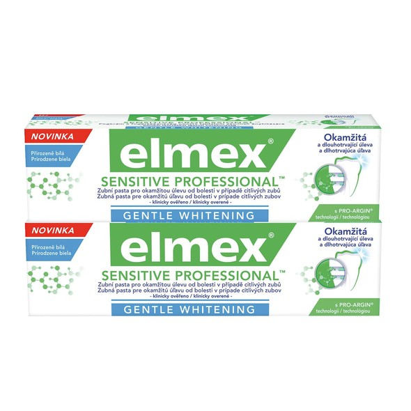 Elmex Sensitive Professional Whitening zubní pasta 2x75 ml