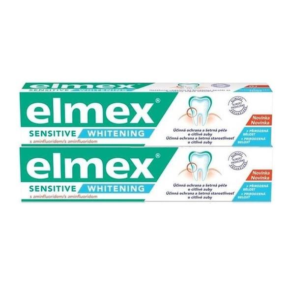 Elmex Sensitive Whitening zubní pasta 2x75 ml