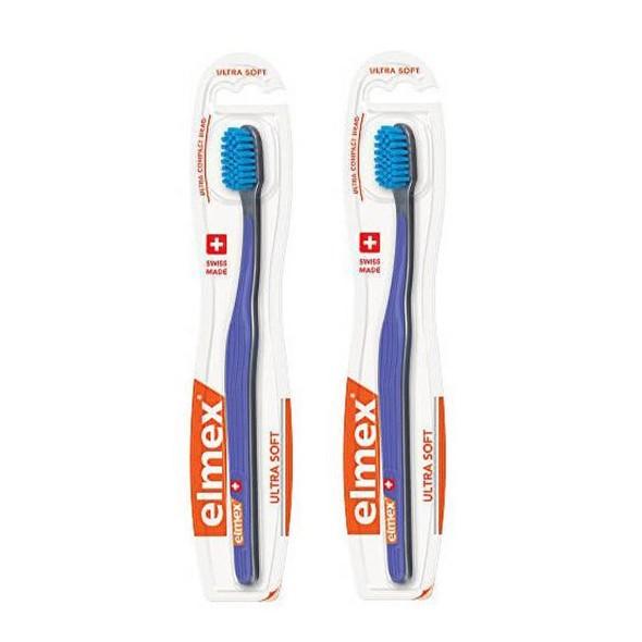 Elmex Ultra Soft zubní kartáček 2 ks