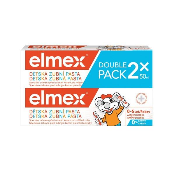 Elmex Kids dětská zubní pasta 2x50 ml
