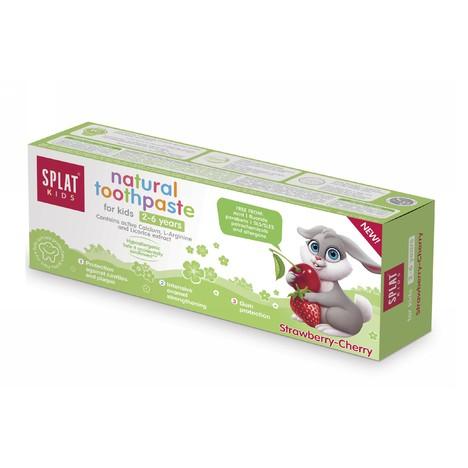 Splat Kids 2-6 Strawberry-Cherry dětská zubní pasta 50 ml