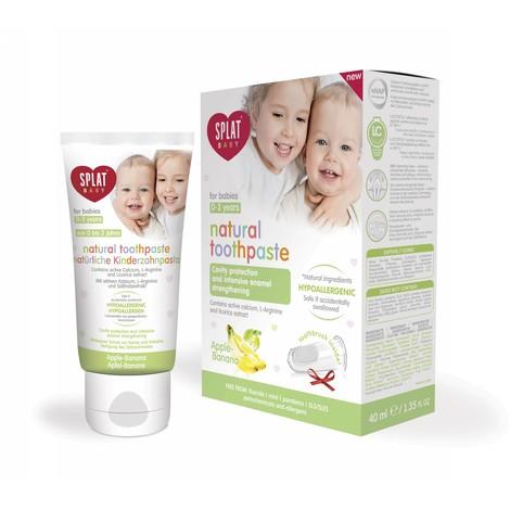 Splat Baby 0-3 Apple-Banana dětská zubní pasta 40 ml
