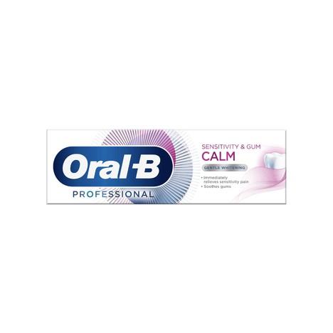 Oral-B Professional Sensitivity & Gum Calm Whitening zubní pasta 75 ml