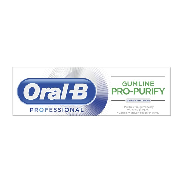 Oral-B Professional Gum Pro-Purify Gentle Whitening zubní pasta 75 ml