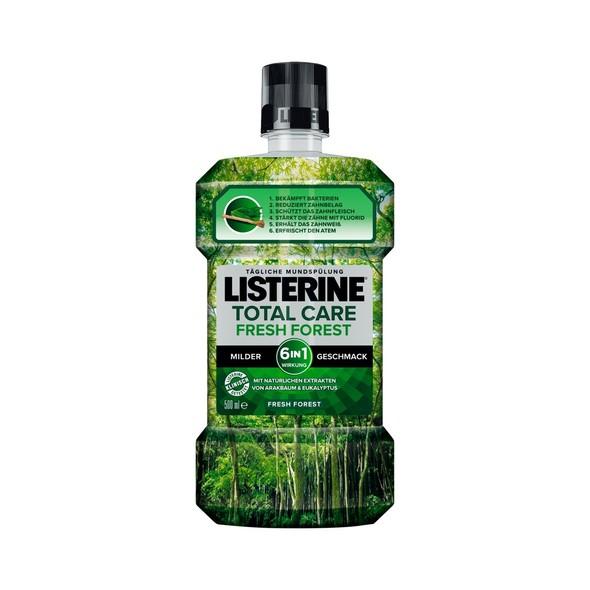 Listerine Total Care Fresh Forest ústní voda 500 ml