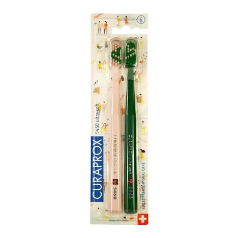 Curaprox CS 5460 Ultrasoft Love 2020 zubní kartáček 2 ks