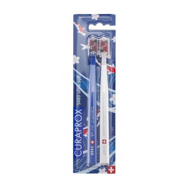 Curaprox CS 5460 Ultrasoft Japan zubní kartáček 2 ks