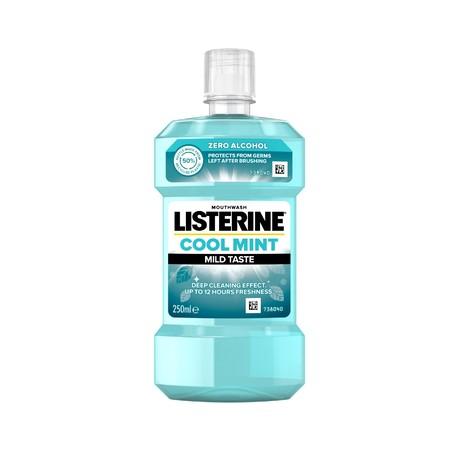 Listerine Cool Mint Mild Taste ústní voda 250 ml