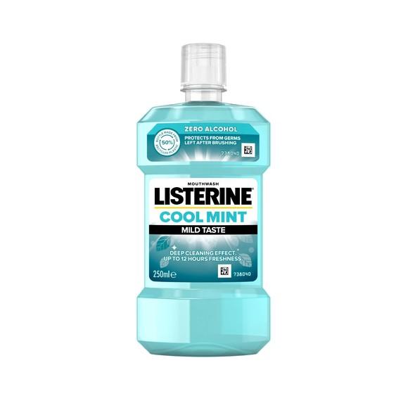 Listerine Coolmint Mild Taste ústní voda 250 ml