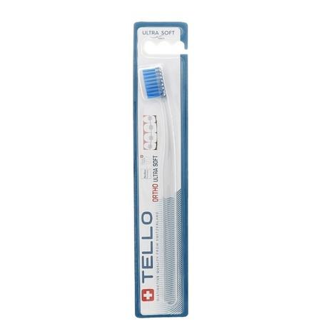 Tello Ortho UltraSoft ortodontický zubní kartáček