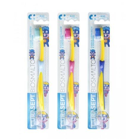 Curasept Biosmalto Kid dětský zubní kartáček
