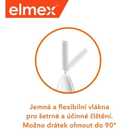 Elmex 0,4 mm Pink mezizubní kartáček 8 ks