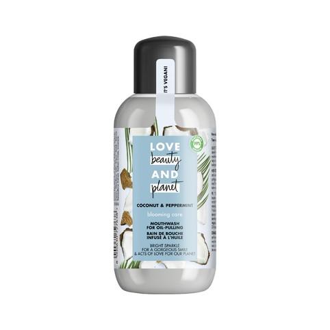 Love Beauty & Planet Coconut & Peppermint ústní voda 250 ml