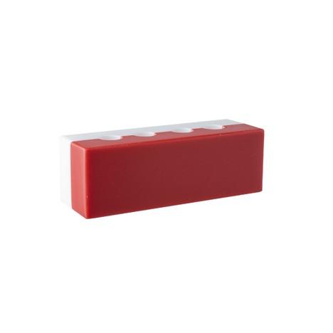 Stojánek na mezizubní kartáčky – červený