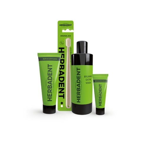 Herbadent Set Maxi balíček pro zdravá ústa
