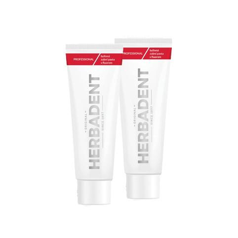 Herbadent Professional bylinná zubní pasta 2x100 g