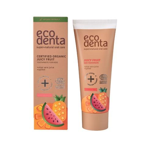 Ecodenta Kids Juicy Fruit dětská zubní pasta 75 ml
